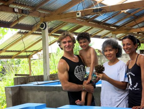 Blissology teams up with LINI to plant corals