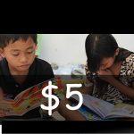 Contribute US$ 5