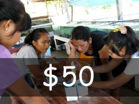 Contribute US$ 50
