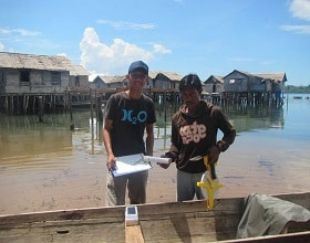 Tracking the fishing activities of octopus fishers in Banggai Laut