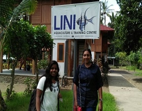 A One-Month Training Programme with Two Students from Cochin University, India