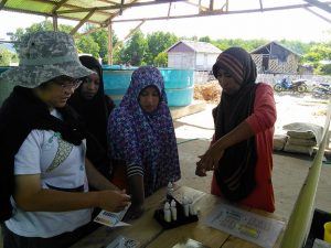 helping local communities Bone Baru Banggai Island